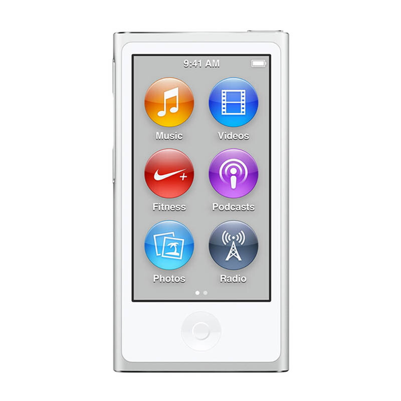 APPLE iPod NANO 16GB SILVER - 7th Generation