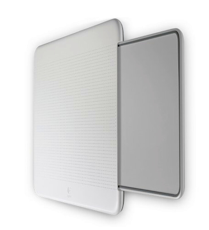 Logitech Portable Lapdesk N315 Mouse Pad-white