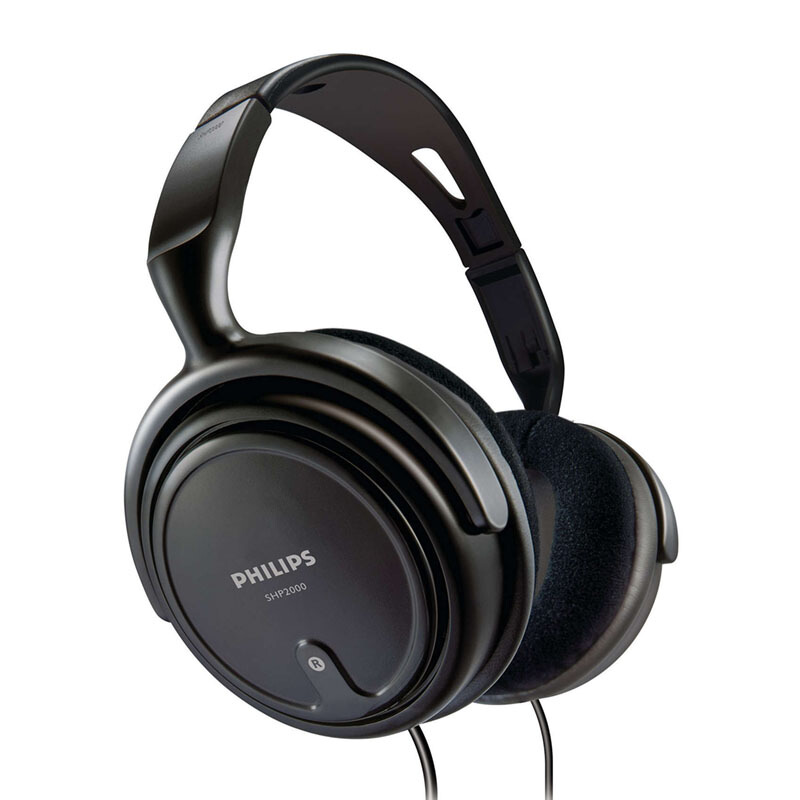 PHILIPS	SHP 2000 INDOOR HEADPHONE HITAM