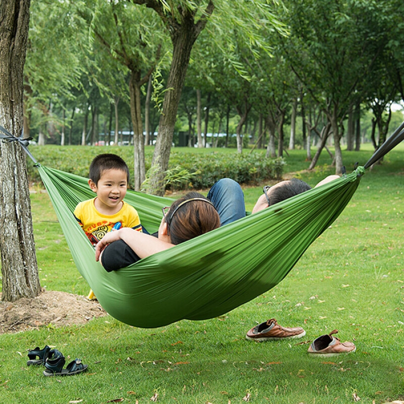 Naturehike 1 Person 190D Nylon Fabric Hammock for Outdoor Camping