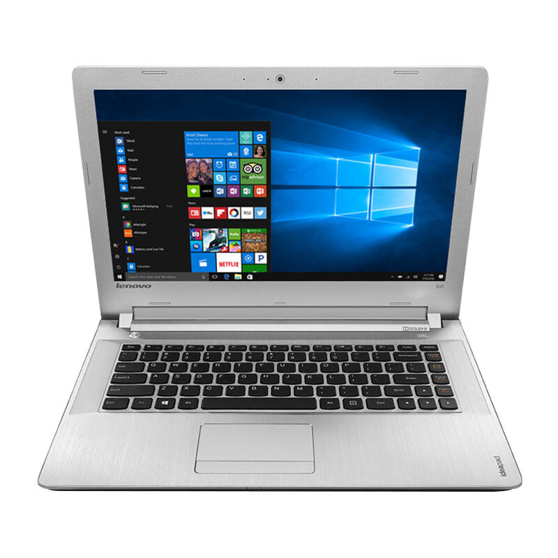 """LENOVO Ideapad IP500-5MID 14"""" FHD/i7-6500U/4GB/1TB/AMD R7 M360 2GB/Win10 Home - White (Bag Included)"""