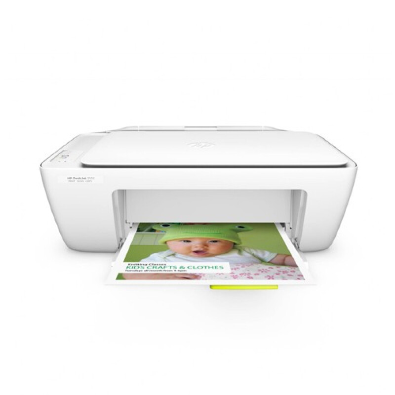 HP DeskJet 2132 All-in-One Color Printer - White