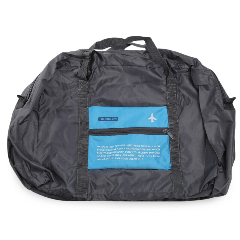 Portable 32L Large Capacity Water-resistant Folding Bags Airplane Travel Storage