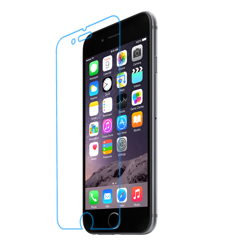 UNEED Shield 9H Hybrid Glass Protector for iPhone 6 - Anti Break