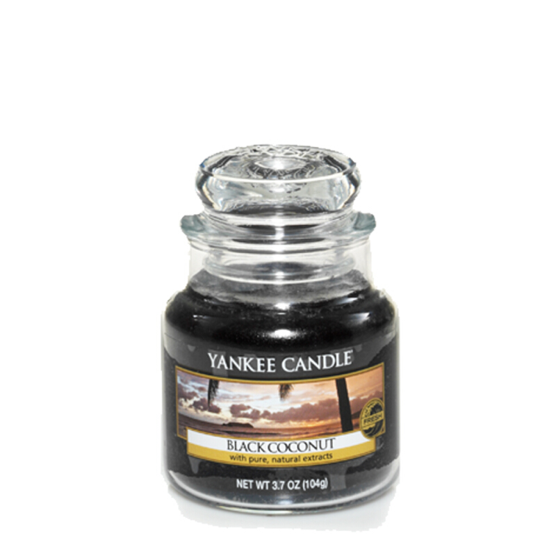Yankee Candle Small Candle Jar - Black Coconut - 104gr