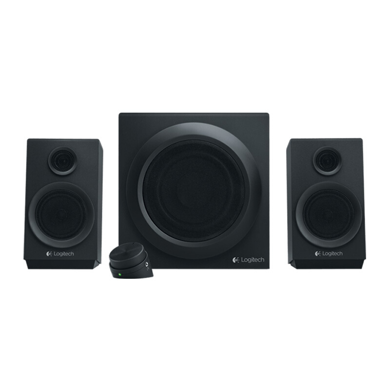 LOGITECH Z 333 Multimedia Speakers - Black