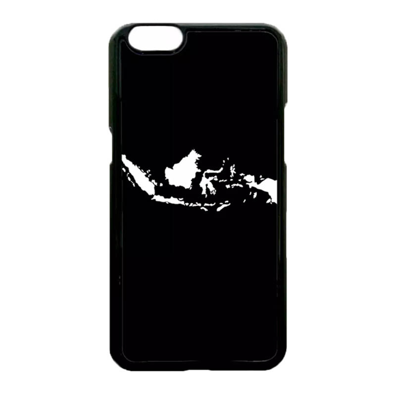 Casing Hardcase Hp Oppo A57 A39 Case Cover - Peta Indonesia Jokowi Selfie -  Black