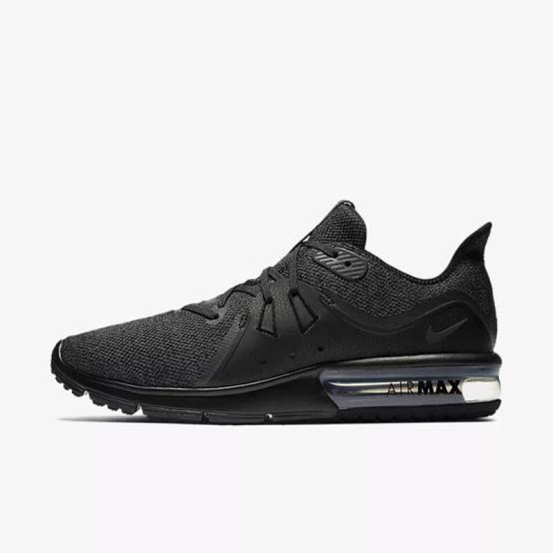 Jual NIKE AIR MAX SEQUENT 3[921694 010] Black 41 Outlet