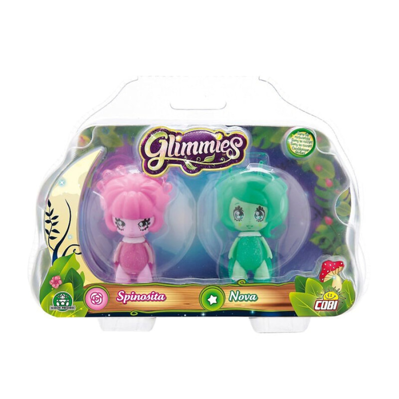 Glimmies Glow In The Dark Nova Spinosita Figure - 5940301 - Multicolor