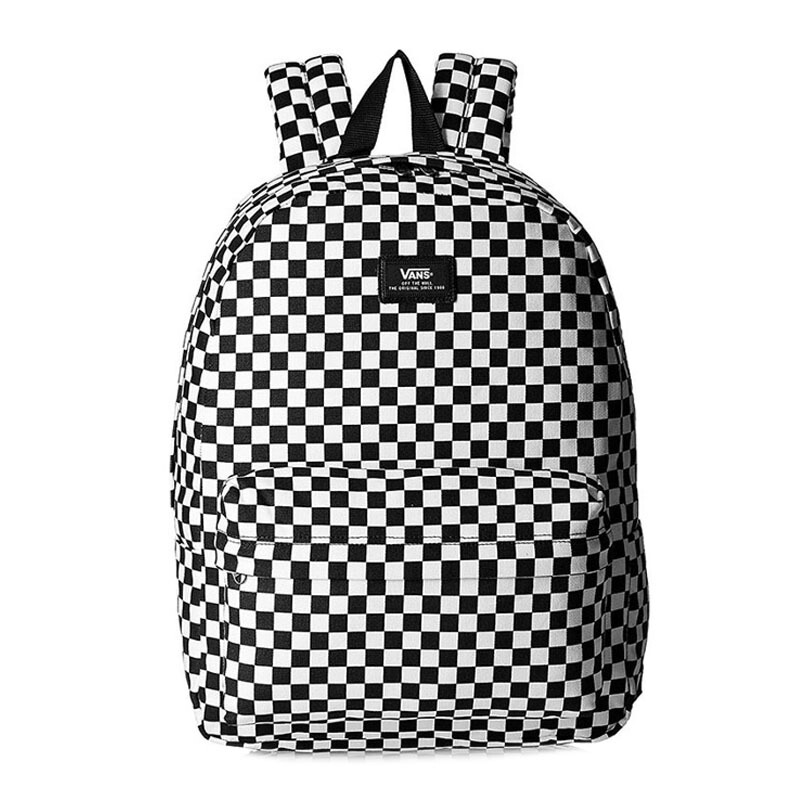 Jual VANS M Old Skool Ii Backpack - Black White Check  One Size   VN000ONIHU0 JD.id a9a28a99d
