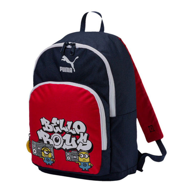 Jual PUMA Minions Backpack - Peacoat-Flame Scarlet  One Size  075041 01  JD.id 323285c330