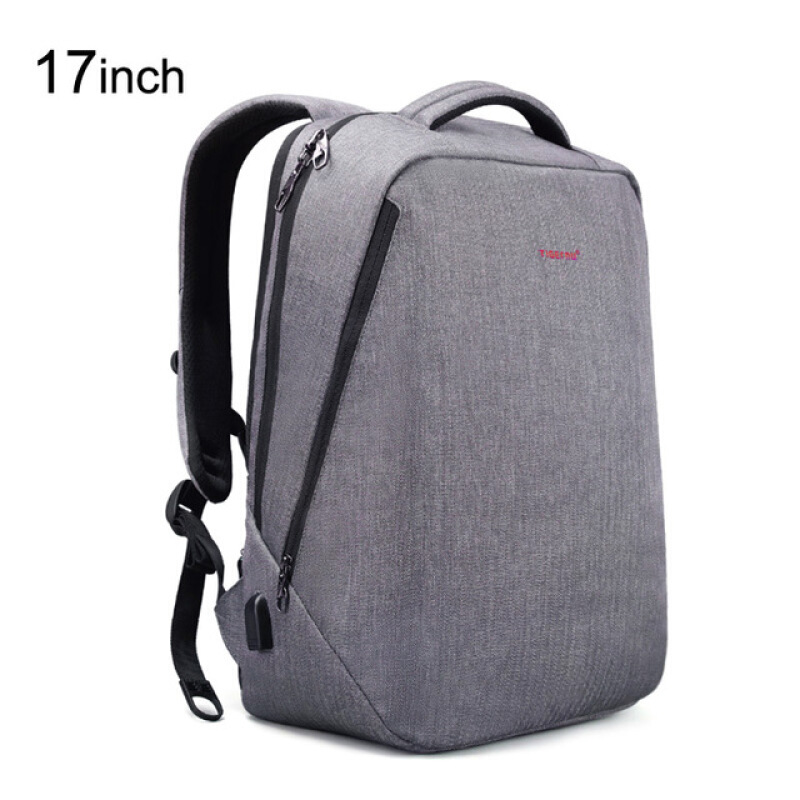 e0a4b56d1c Jual Tigernu B3164 Tas Ransel Laptop Gaming 17 Inch Anti Theft Waterproof  Backpack Grey mairu.store