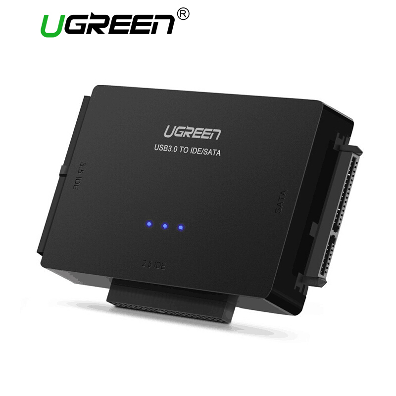 Jual UGREEN USB IDE Adapter USB 3.0 to Sata IDE Hard Drive Converter Combo for 2.5 Ugreen Official Store