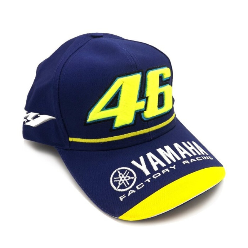 Jual Topi VR46 Racing Team (Official 2015) Valentino Rossi Ori - Blue Blue  All Size HELM CARGLOSS 9109570e1d