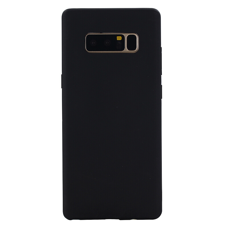Smatton Case hp Xiaomi Redmi Note 5A Y1 Rubber Silicone Case Full Protective Candy Color Soft TPU Cover Shell Black