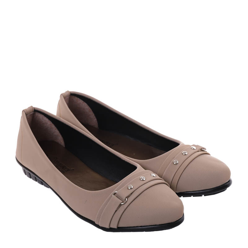 ANYOLORICH Ladies Flat Shoes SM 17 - Apricot - 37