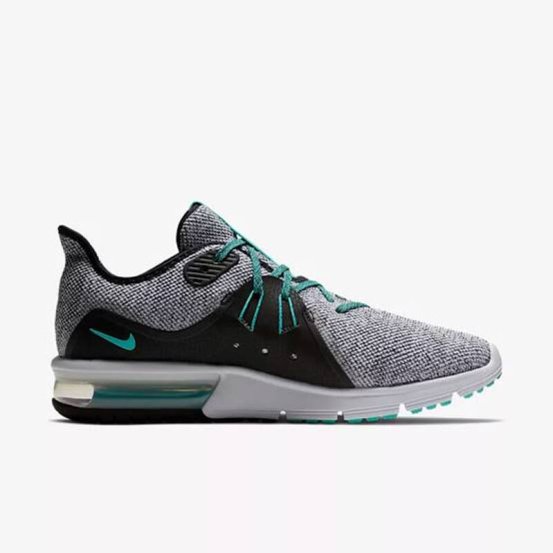 Jual NIKE AIR MAX SEQUENT 3[921694 100] Grey&Green 41 Outlet