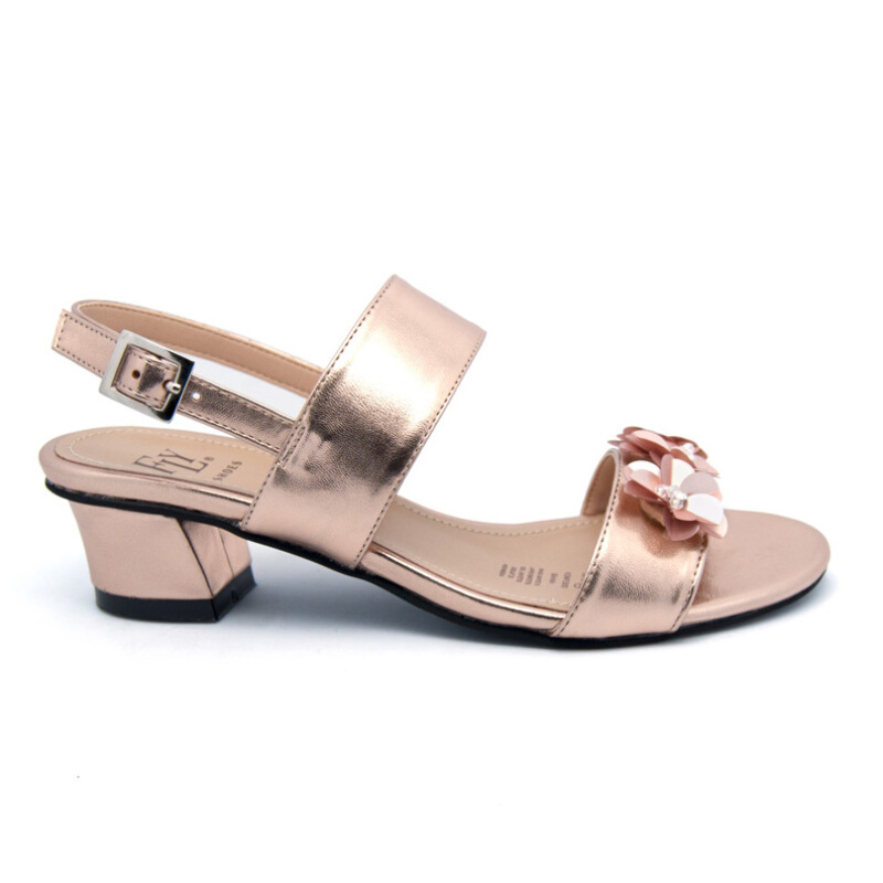 FLY SHOES Nadira 5675 Rose Gold Rose Gold 36