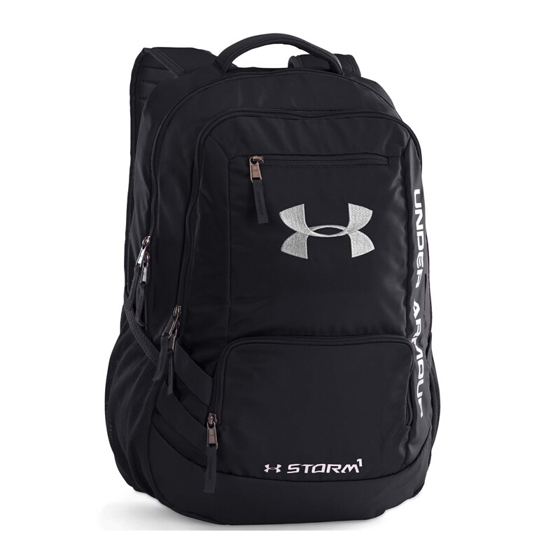 Jual 1263964-001 UNDER ARMOUR UA Hustle Backpack II - Black  OSFA  SPRT d77f7c4591
