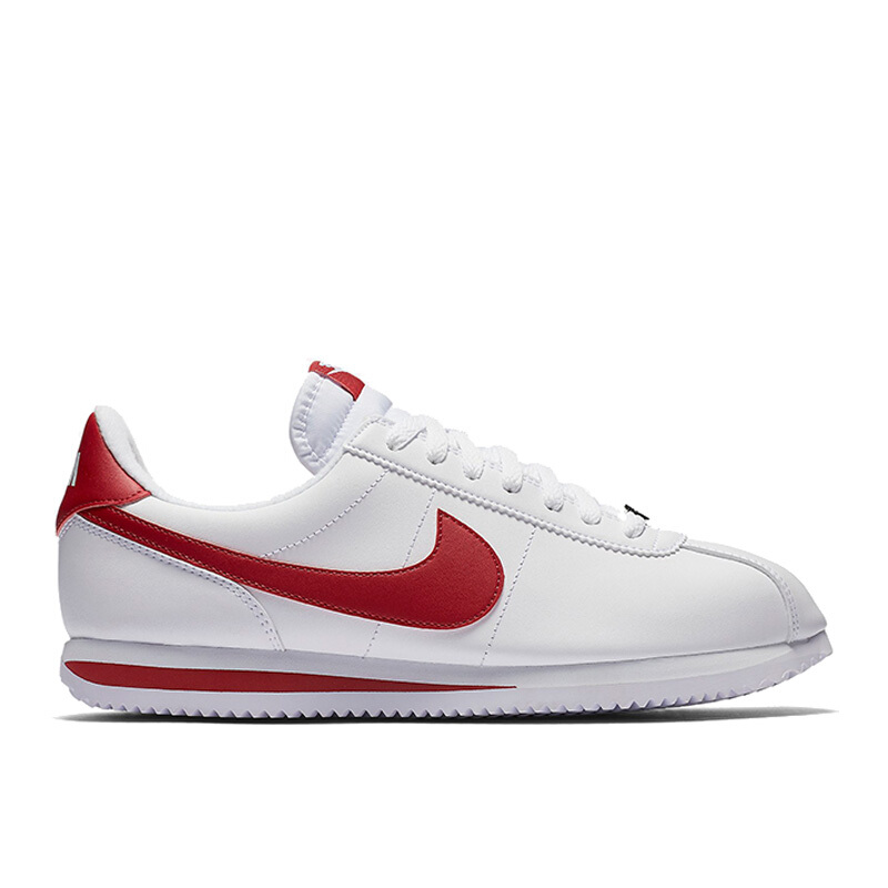best service 3bbd5 a1b86 Jual NIKE Cortez Basic Leather - White/Gym Red [US 6.5 ...