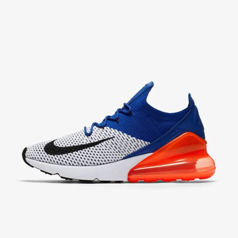 00842865eb Jual Nike Air Max 270 Flyknit[AO1023-101]-Blue&White 40.5 Outlet