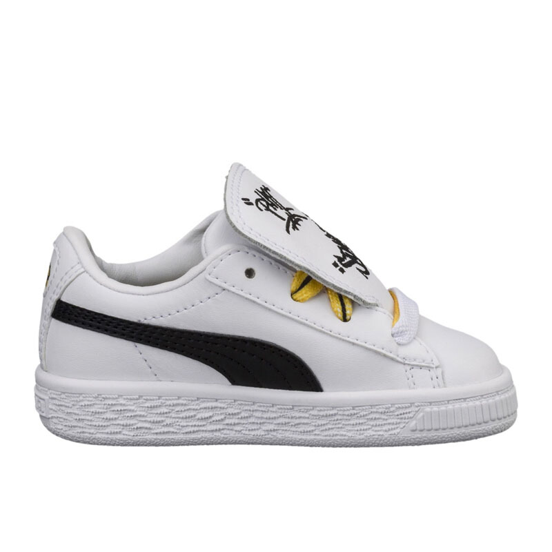 Jual PUMA Minions Basket Tongue Ps White -  UK 12  36515101 JD.id 8b00c0b29b
