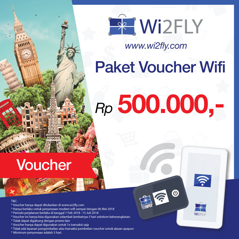 Jual Wi2FLY Voucher Value Rp 500.000 Wi2FLY 1c26b68543
