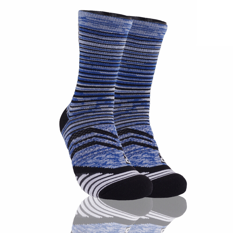 Stayhoops Poise Performance Sock 'Havelock' - Blue Stripe