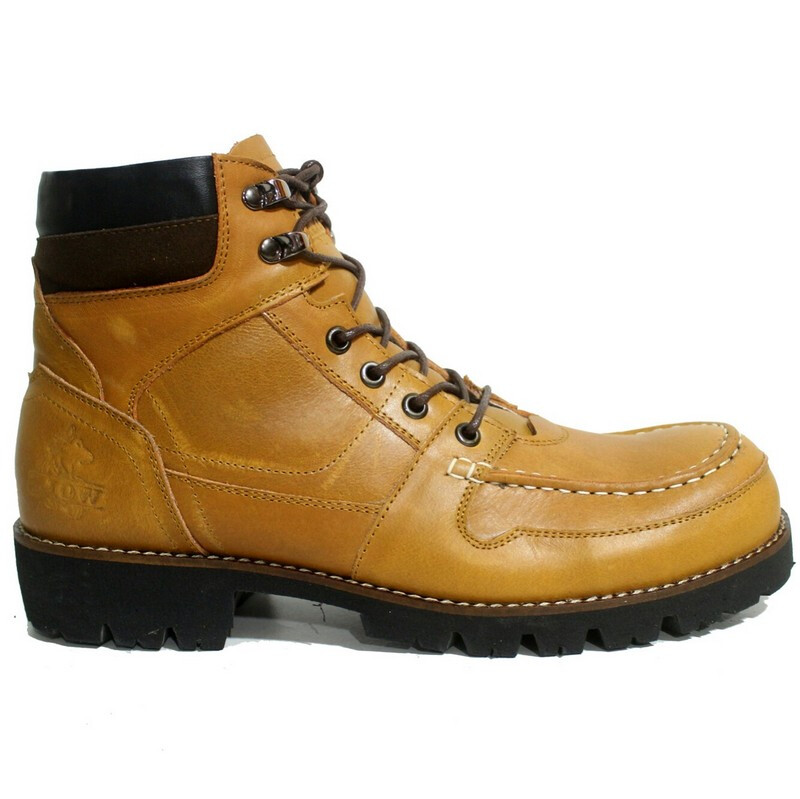 Jual Wolf Sepatu Boots Pria Kulit Rottweiler - Tan Gold 39 cevany official  store 716d739f72