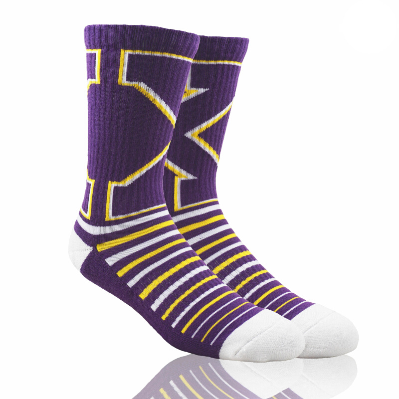 Stayhoops Performance Sock 'Xander Purple' - Dark Purple
