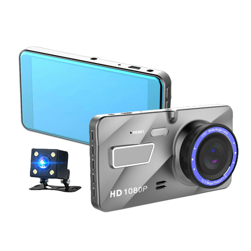 In Car Camera >> Jual Vfocs 4 0 Dual Lens Dash Cam Car Camera Recorder Full