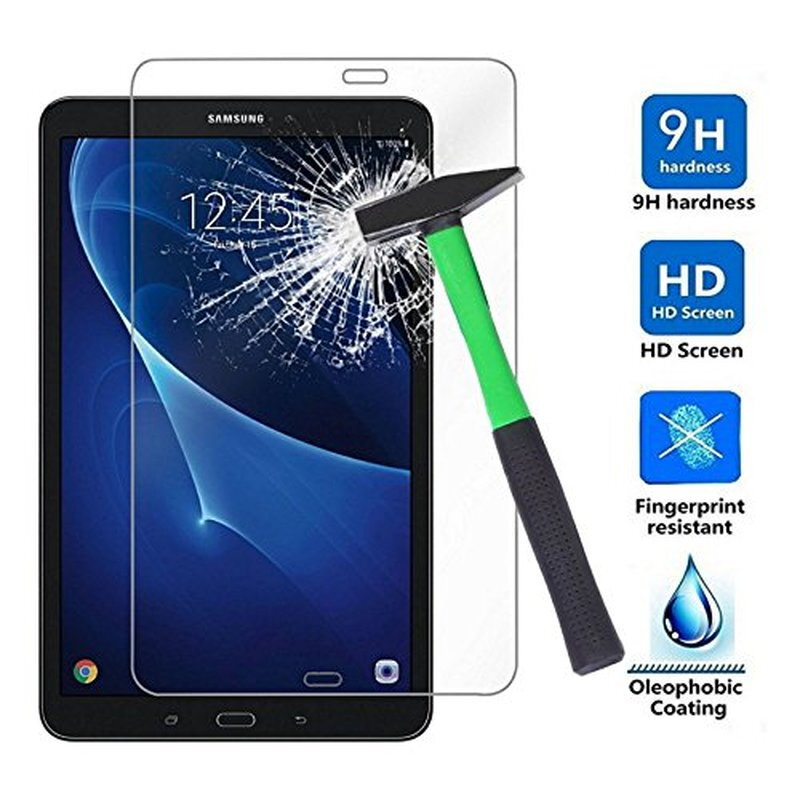 """Samsung Galaxy Tab A6 10.1/"""" Inches SM-T580 2016 Screen Tempered Glass Protector"""