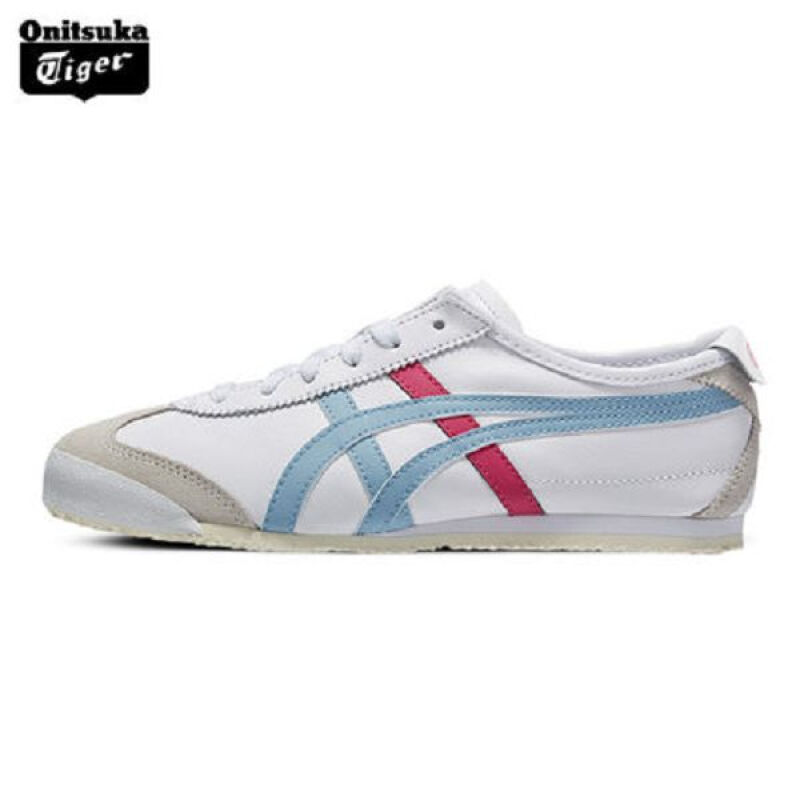 separation shoes 7f888 86ff0 Jual Onitsuka Tiger MEXICO 66 HL474-White&Blue 38 Outlet