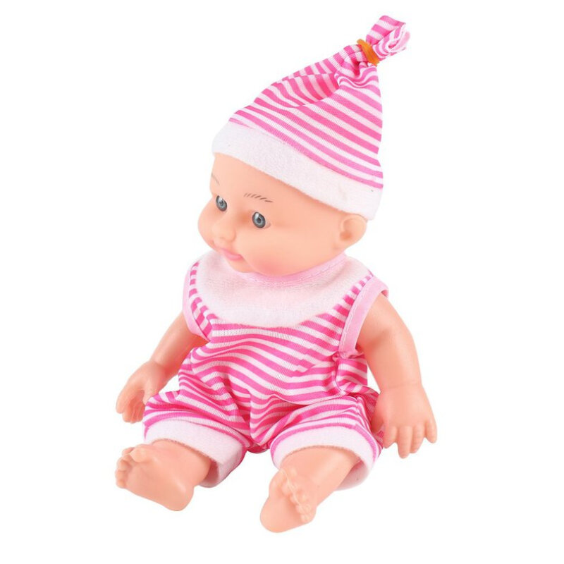 Simulated Baby Silicone Body Doll Realistic Newborn Doll Kids Education Toy