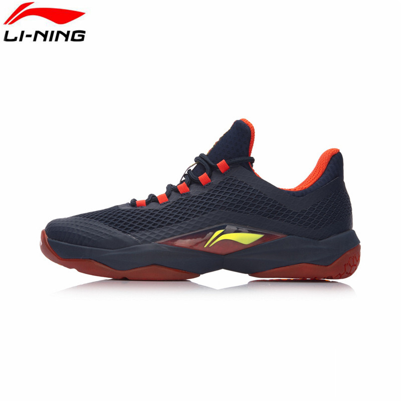 Jual 2018 Li-ning Men Badminton shoes AYTN039-1 Red US size 10.0 Green Sport 80575aaa6b
