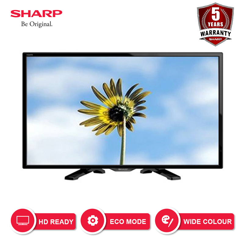 SHARP LED TV 24 Inch HD - LC-24LE170i
