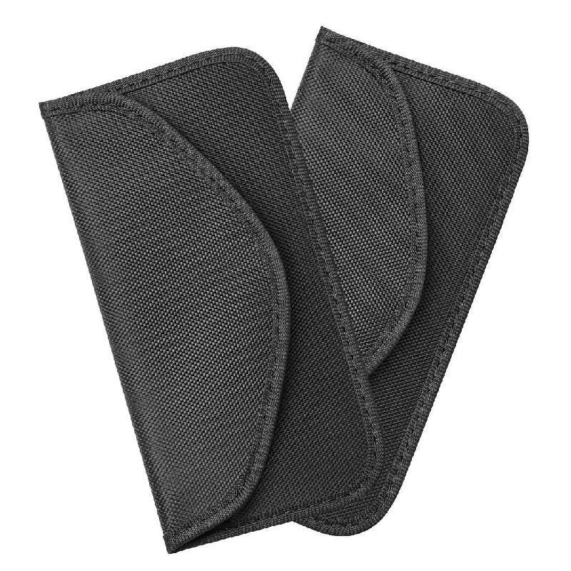 Pack of 2 RFID Blocking Faraday Bag Pouches for Keyless Car Theft Prevention Black Car Key Signal Blocker Pouch Signal Blocking Wallet for Car Keys /& Credit Cards PU Leather Case