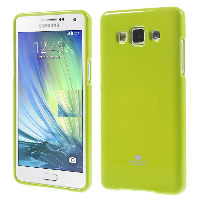 Goospery Mercury Jelly Case For Samsung A7 2015 / A700 - Lime Green Lime Green