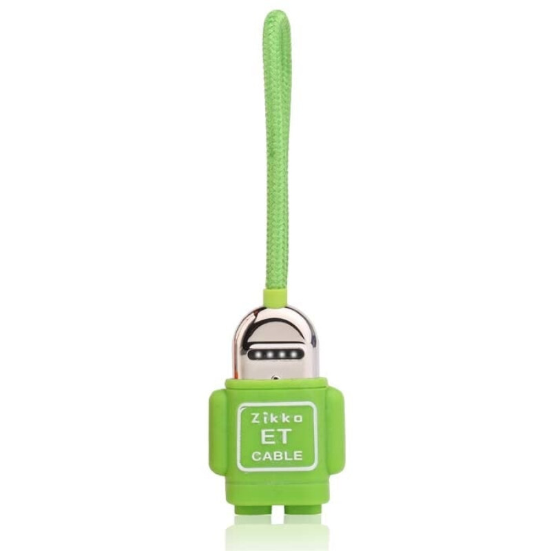 ZIKKO LIGHTNING CABLE ET 0.15 GREEN