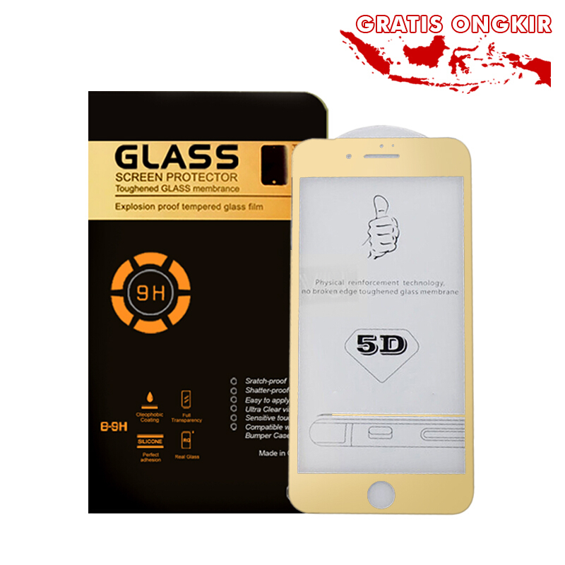 ... Jual Vaping Dream Tempered Glass iPhone 6 6S 4D FULL COVER Anti Gores Screen  Guard Screen 1f59b94d17