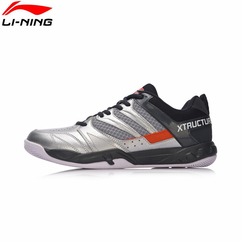 Jual 2018 Li-ning Men Badminton shoes AYTN025-4 Silver US size 11.0 Green  Sport ad5f1913e7