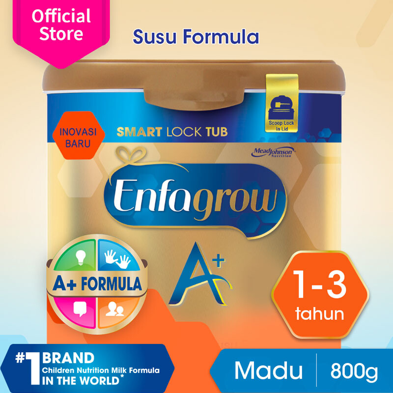 ... ENFAGROW A 3 Susu Madu Smart Lock Tub 800g