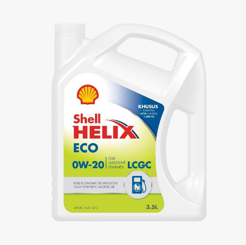 Jual Shell Helix ECO SYNTHETIC 0W 20