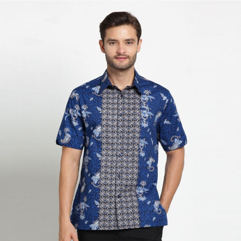 A&D Mens Batik Ms 796 - Blue (S)