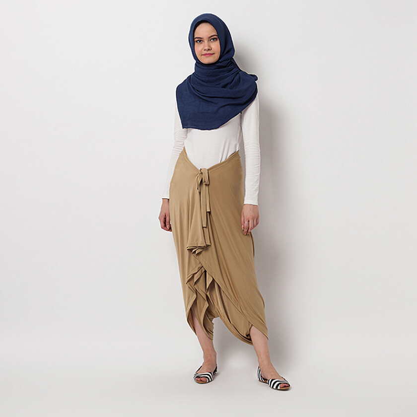 COVERING STORY Nikkie Pants Caramel [One Size]