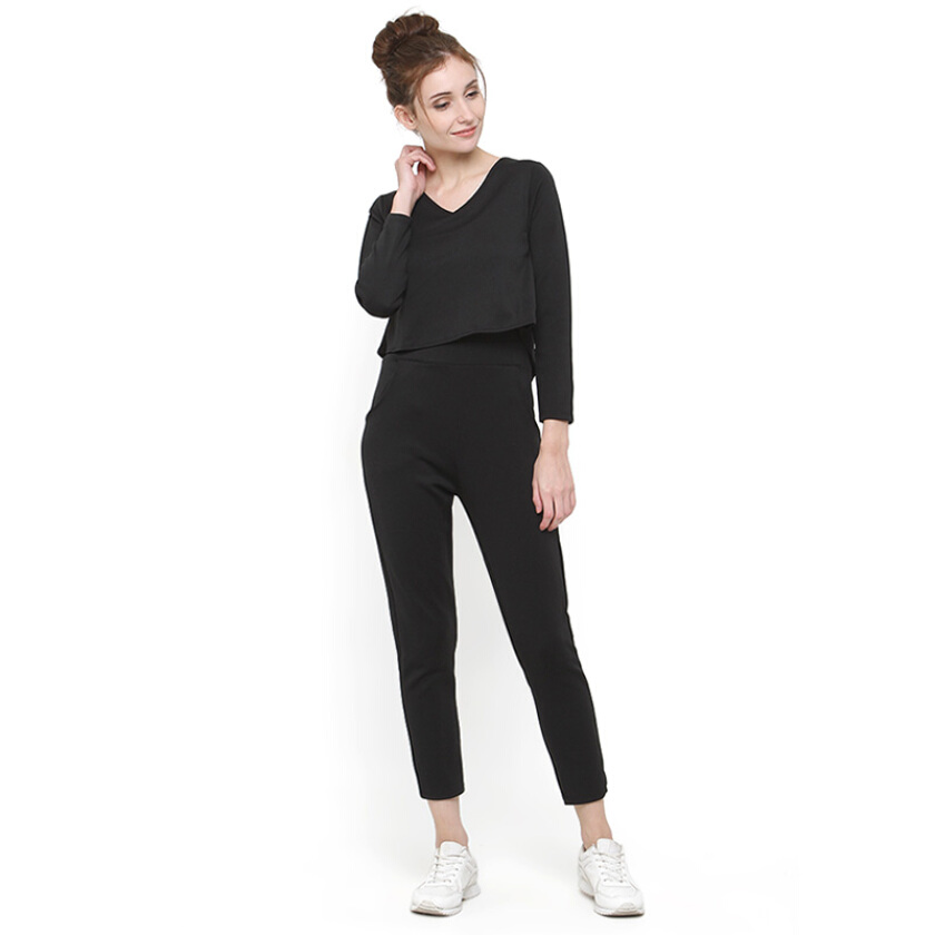 Shop At Banana Natasha Jumpsuit - Black [One Size]