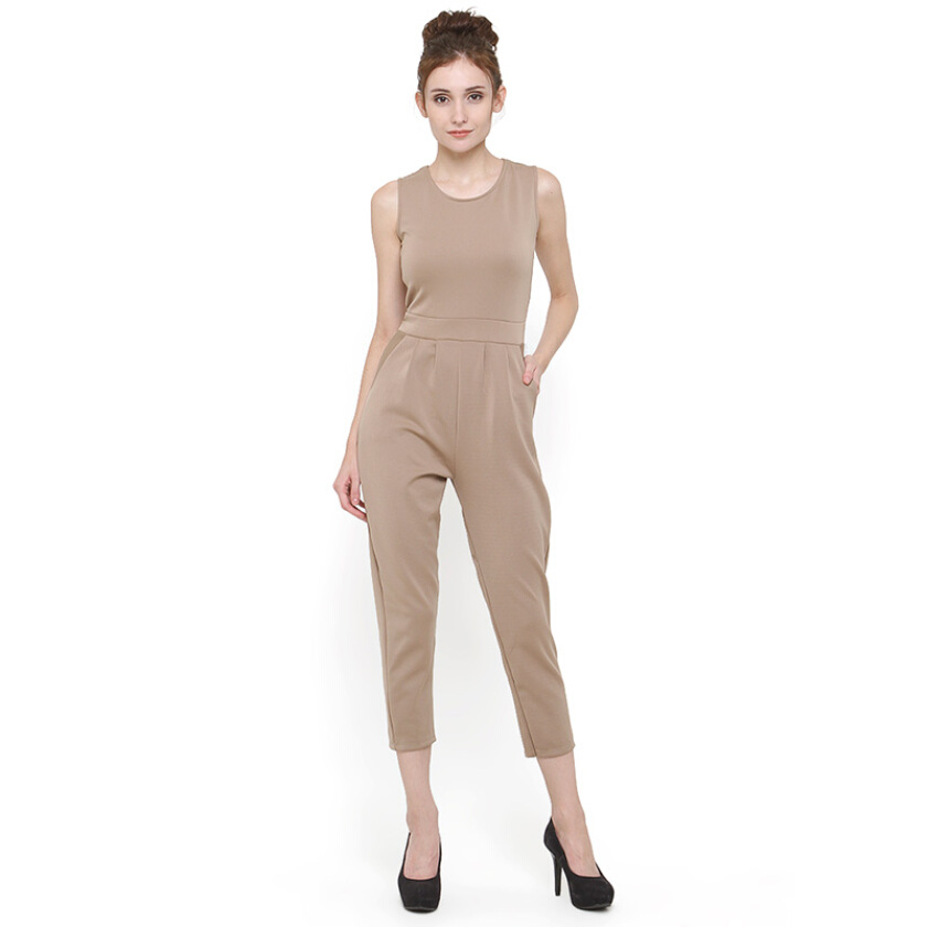 Shop At Banana Brown Sugar Jumpsuit - Brown [One Size]
