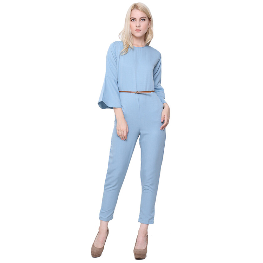 Shop At Banana Grape Banana Jumpsuit - Blue [One Size]