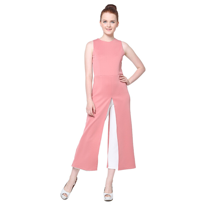 Shop At Banana Lady Bee Jumpsuit - Pink [One Size]