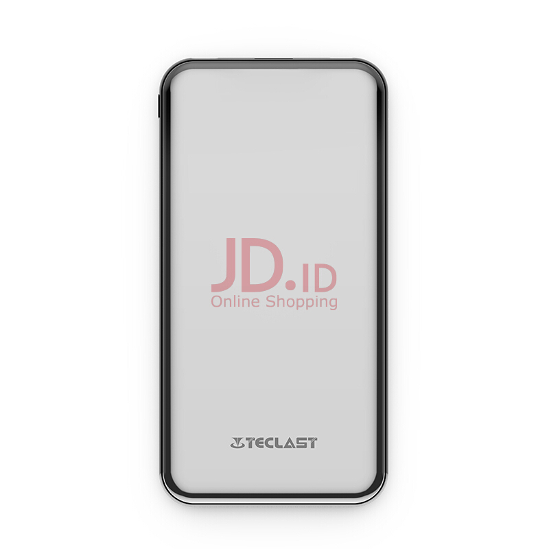 harga Teclast C10 Power Bank 10000mAh Compatible for iPhone X 8 7 6s 6 Plus Samsung HTC Cell Phone Grey Jd.id